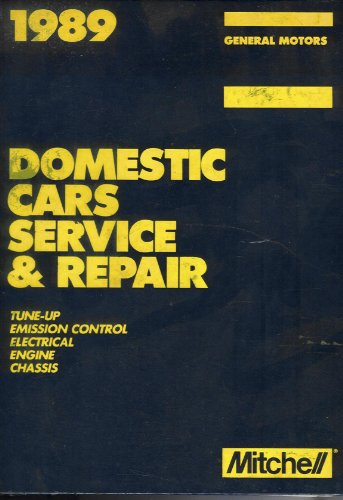 1989 Domestic Cars Service and Repair
