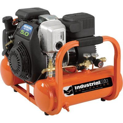 Cheap Industrial Air Contractor Pontoon Air Compressor with Honda OHC/OHV Engine – 4 Gallon, 155 PSI, Model# CTA5090412 (B005YAJXPO)