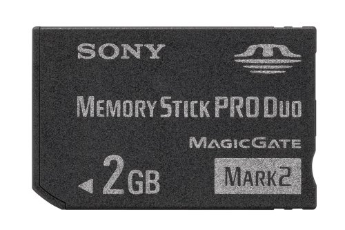 Sony MSMT2G 2GB Memory Stick PRO Duo Card