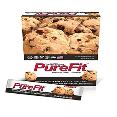 PureFit Nutrition Bar, 2-Ounce Bars (Pack of 15)
