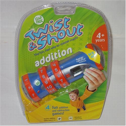 Leap Frog Twist & Shout Addition - Buy Leap Frog Twist & Shout Addition - Purchase Leap Frog Twist & Shout Addition (LeapFrog, Toys & Games,Categories,Electronics for Kids,Learning & Education,Toys)