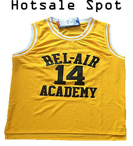 THE Fresh Prince of Bel-air Basketball Jersey Academy Size L