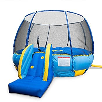 BouncePro Superdome Trampoline and Bouncer Inflated Air Bounce House