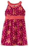 Tea Collection Girls 2-6X Venda Halter Dress, Fruit Punch, 5