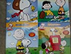 Peanuts Color & Read Along with Stickers…