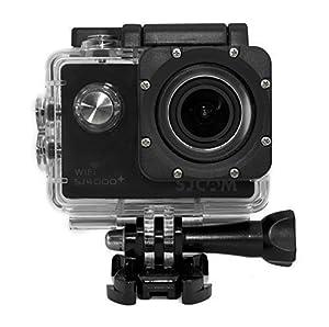 SJCAM multi-fonction SJ4000+ Plus 2K HD 1080P 720P étanche Action Sports Helmetcamera Enregistreur numérique DVR Camcorder, 12 Mega pixel, 170 ° HD grand angle, avec le boîtier étanche Mounts multiples (noir)