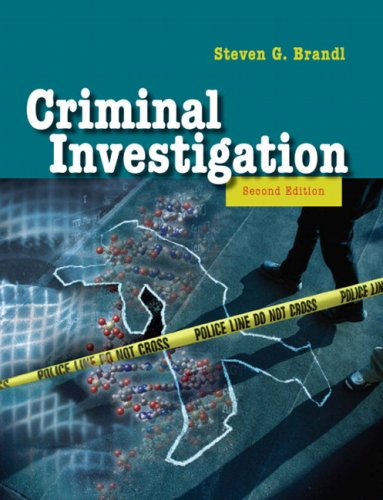 Criminal Investigation (2nd Edition)