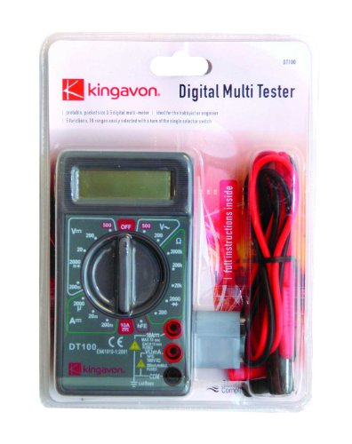 Digital Multi Tester - CE Approved. Ideal For engineer / Hobbies.
