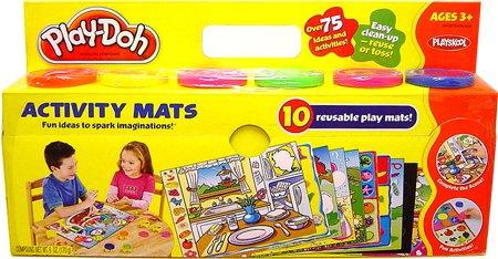 Play-Doh Creative Play Boys & Girls Activity Mat