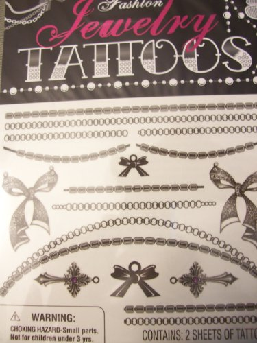 Fashion Jewelry Tattoos ~ Bow