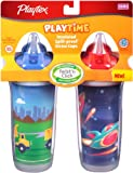 Playtex Insulator/Playtime Cup, 9 Ounce, 2 Pack, Colors May Vary