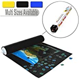Lavievert Black Felt Mat for Puzzle Storage Puzzles Saver, Long Box Package, No Folded Creases, Environmentally Friendly