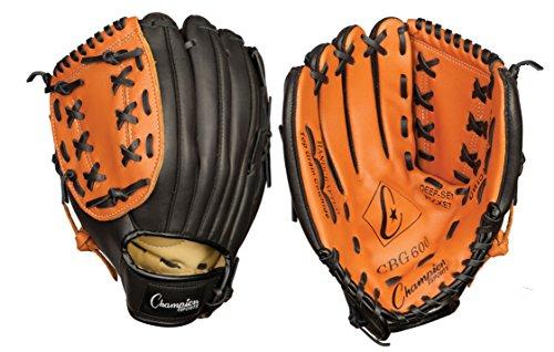 Champion Sports Leather Front Fielder's Glove (Right-Hand Throw, 11-Inch) (Champion Cbg600rh compare prices)
