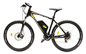 EASYBIKE E-Bike Elektofahrrad M3-650 27,5 Zoll Bereifung 11Ah 396Wh E-Mountainbike SCHWARZ Modell 2014 by EasyBike