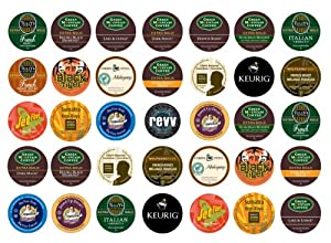 Crazy Cups Dark Roast Sampler K-cup Portion Pack For Keurig K-cup Brewers Pack Of 35 from Crazy Cups