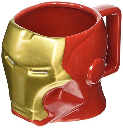 Marvel Avengers Tazza 3D Iron Man, Prodotto Ufficiale