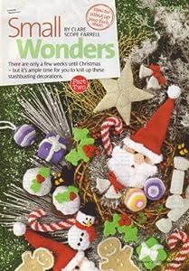 Christmas Small Wonders Knitting Pattern: Snowman, Christmas Pudding, Christm...
