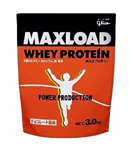 MAXLOADホエイプロテインチョコレート風味3kg