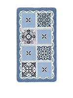 Pandora Alfombra de Baño Ceramic (Azul)
