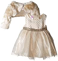 Blueberi Boulevard Baby-Girls Fur Shr…