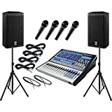 PreSonus Studiolive 16 0 2   Yamaha DSR112 PA Package