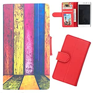 DooDa - For LG G3 STYLUS(D690) PU Leather Designer Fashionable Fancy Wallet Flip Case Cover Pouch With Card, ID & Cash Slots And Smooth Inner Velvet With Strong Magnetic Lock