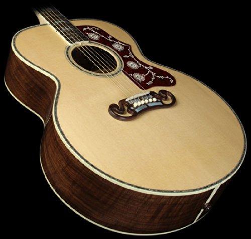 Gibson Sj-200 American Walnut Custom Anniversary Acoustic-Electric Guitar Antique Natural