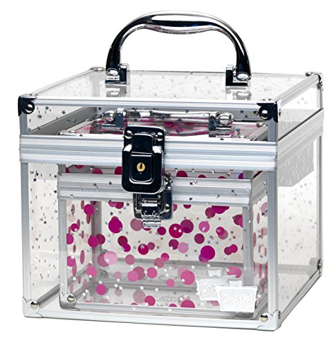 caboodles-prima-donna-medium-case-with-holographic-stars-and-pink-dots-bonus-case