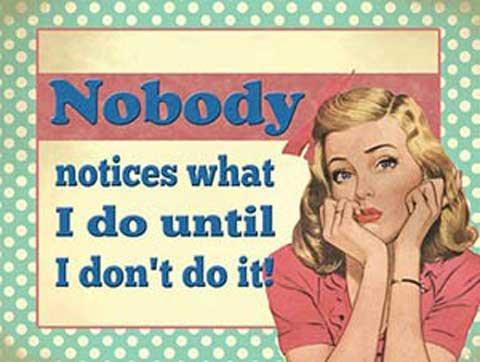 Humour-style-vintage-avec-affiche-mtallique-rtro-inscription-nobody-20-x-15-cm