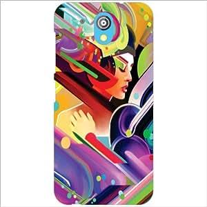 HTC Desire 526G Plus Back Cover - Mixed Art Designer Cases