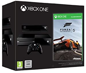 Xbox One Console: Day One Edition (with free Forza 5 download code)
