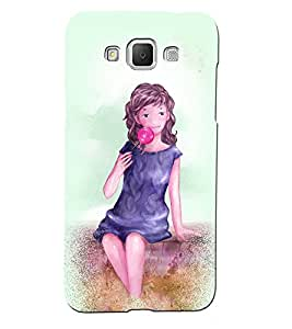 Fuson 3D Printed Girly Designer back case cover for Samsung Galaxy Grand 2 G7106 / G7102 - D4587