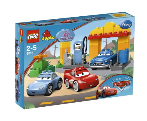 Duplo Cars  Flo's Cafe