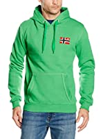 Geographical Norway Sudadera con Capucha Fondant (Verde)