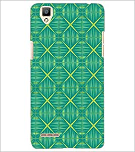 PrintDhaba Pattern D-5239 Back Case Cover for OPPO F1 (Multi-Coloured)