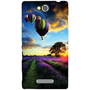 Sony Xperia C Back Cover - High Up Designer Cases