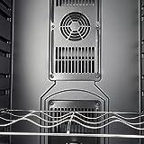 akdy 32 btl electric wine cooler cellar chiller single zone az ea44ec 75