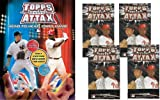 2009 Topps Attax Baseball Card Game - New Head-to-Head Action! Starter Combo Special (1 Two-Player Starter and 4 Packs)