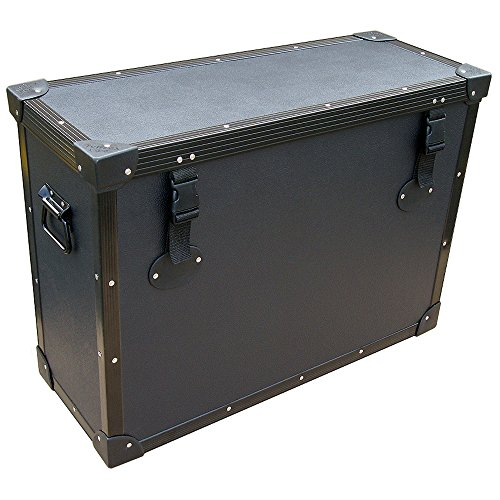 "Monitors - Lcd'S W/Stands Attached 'Tuffbox' Light Duty Road Case 25"" To 28"" Screens"