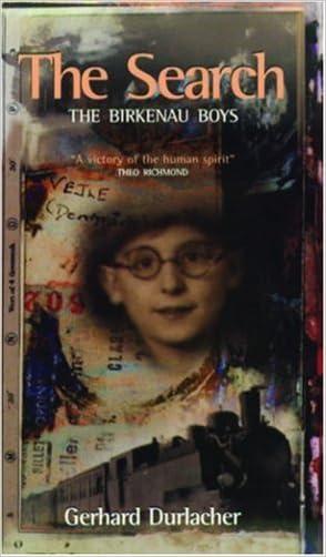 The Search: The Birkenau Boys written by Gerhard Durlacher
