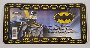 Chroma 42519 Black Batman Logo Plastic Frame at Gotham City Store