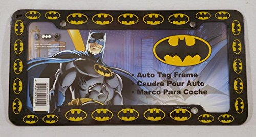 Chroma 42519 Black Batman Logo Plastic Frame at Gotham City Store