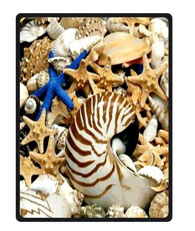 Seashell Throw Blanket front-1032538