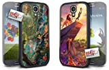 Disney Jungle Book and Lion King Hard Case COMBO TWO PACK for Samsung Galaxy S4