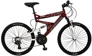 Mongoose Maxim Boy's F9867Dual-Suspension Mountain Bike (24-Inch Wheels)
