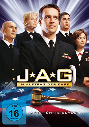 JAG: Im Auftrag der Ehre - Die fünfte Season [6 DVDs]