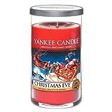 Yankee Candle Medium Pillar Jar Candle, Christmas Eve