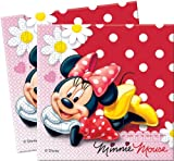 20 Minnie Mouse Polka Dot Paper Party Napkins