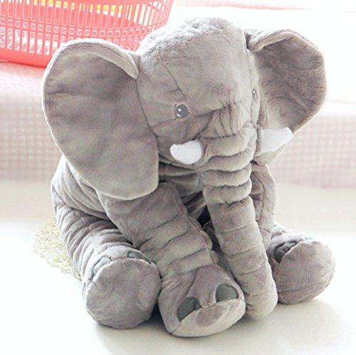 Blivener-Elephant-Stuffed-Plush-Pillow-Pals-Cushion-Plush-Toy-for-Baby-Gray-1287