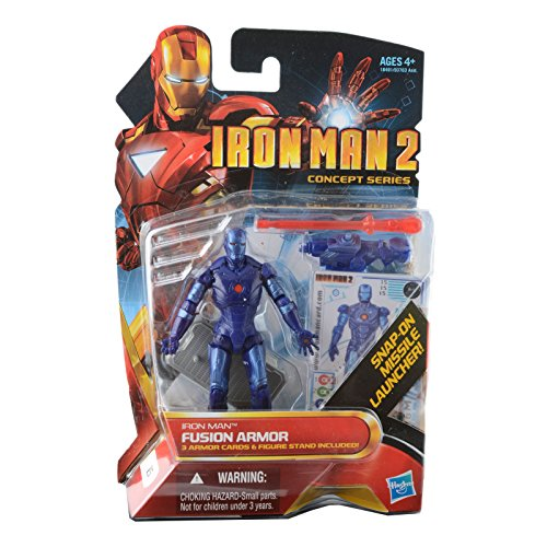 Iron Man 2 Concept 4 Inch Action Figure #15 Fusion Armor Iron Man - 1